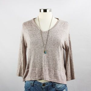 Tops - 🌸🌵🌼Flowy Light Brown Top XS NWT
